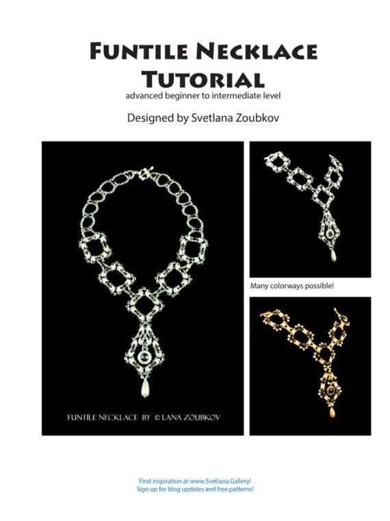 Free Bead Pattern featuring Funtile Necklace Pattern by Svetlana Zoubkov