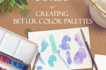 5 Steps To Creating Better Color Palettes - Svetlana.gallery Blog