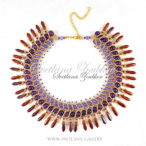 Nerita Necklace Variation - Natural Stone Beads