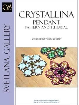 Crystallina Bead Pattern And Tutorial - find more tutorials at www. Svetlana.Gallery
