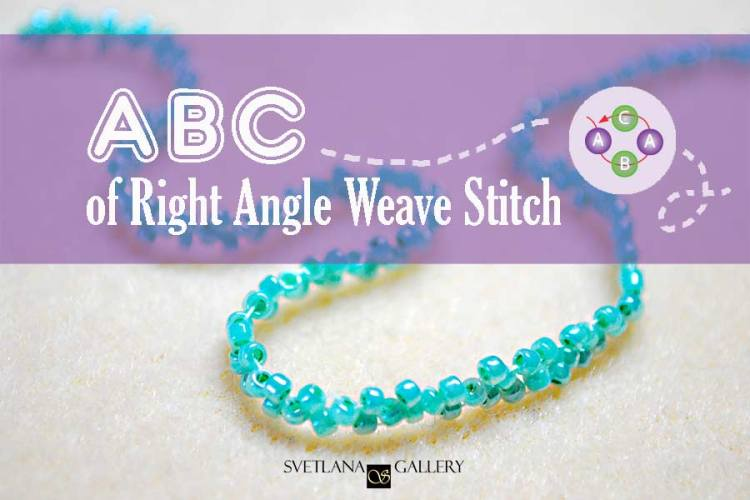 Right Angle Weave Stitch Basic Beading Instructions