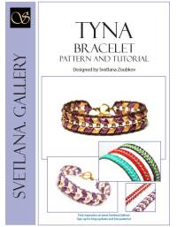 Tyna Bracelet Pattern Tutorial for Diamond Duo or Iris Duo beads