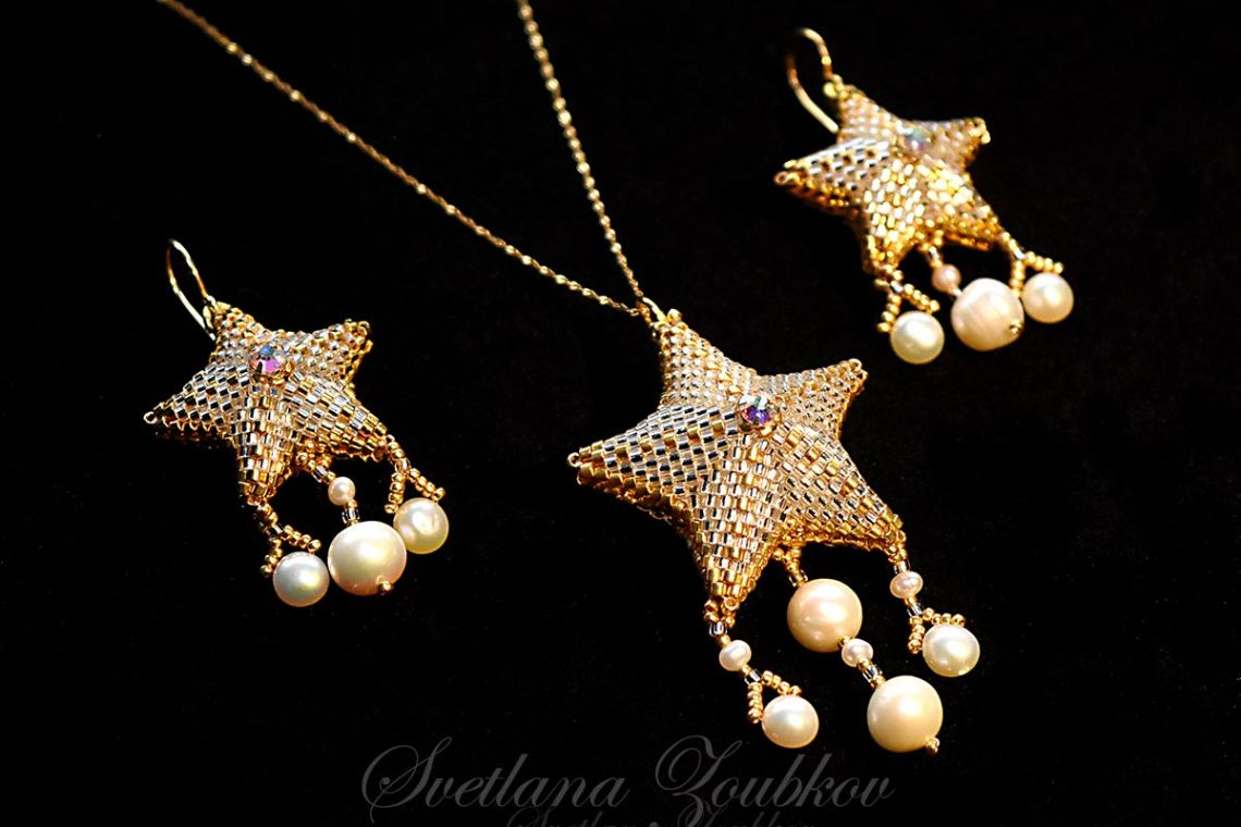 Star Jewelry Set by Svetlana Zoubkov