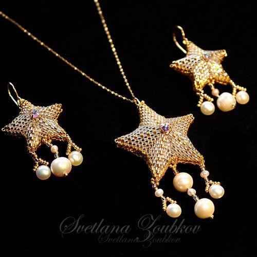 Star Jewelry Set by Svetlana Zoubkov