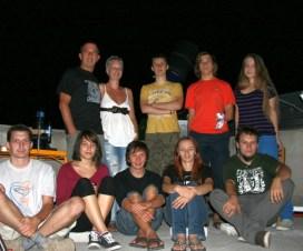 Zajednička fotografija cLARKe-2010 tima