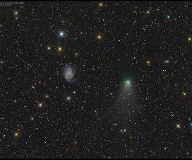 """""""Bliski"""" susret galaksije i komete [10.10.2013] 6"""