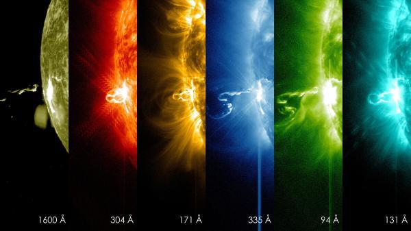 Slika dana: Eksplozija na Suncu [28.02.2014]