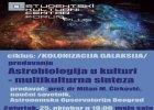 """Predavanje: """"Astrobiologija u kulturi - multikulturna sinteza"""" 2"""