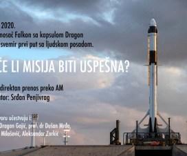 Pratite prenos lansiranja Falkon 9 i kapsule Dragon 4