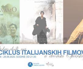 Italijanski filmovi pod zvezdama, 26 - 28. jun 4