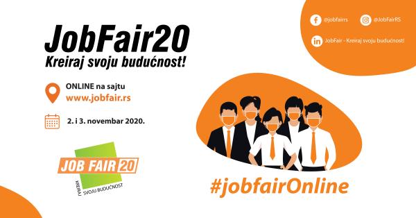 """Sajam poslova i praksi """"JobFair ─ Kreiraj svoju budućnost!"""" 1"""