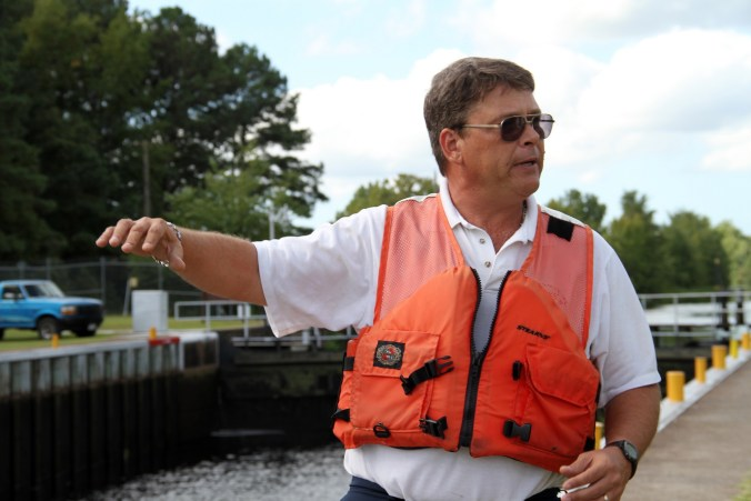 Robert Peek, Lock Master of the Deep Creek Lock