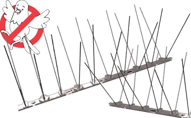 Zaštita od ptica AB Spike Simset 5x0.5m: Rasterivači