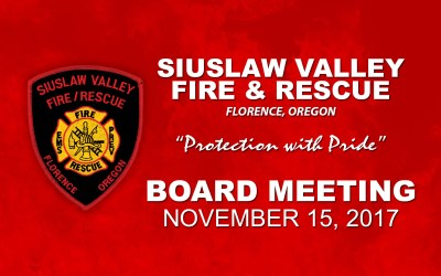 Board Meeting – November 15, 2017