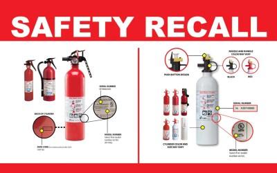 Kidde Recalls Fire Extinguishers