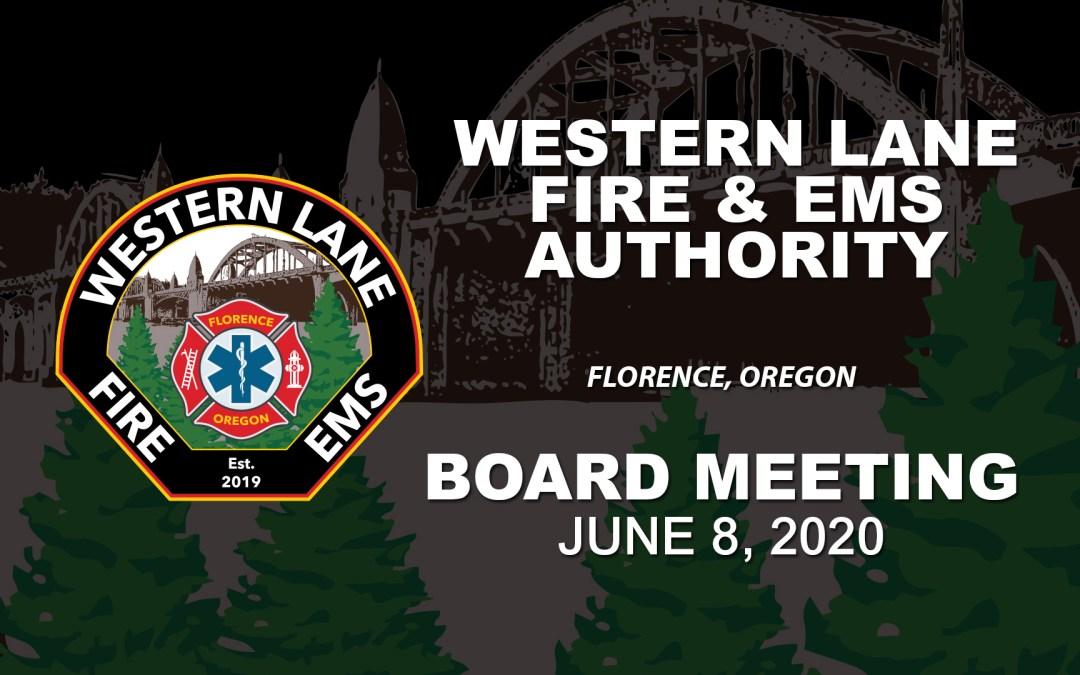 WLFEA Board Meeting – June 8, 2020