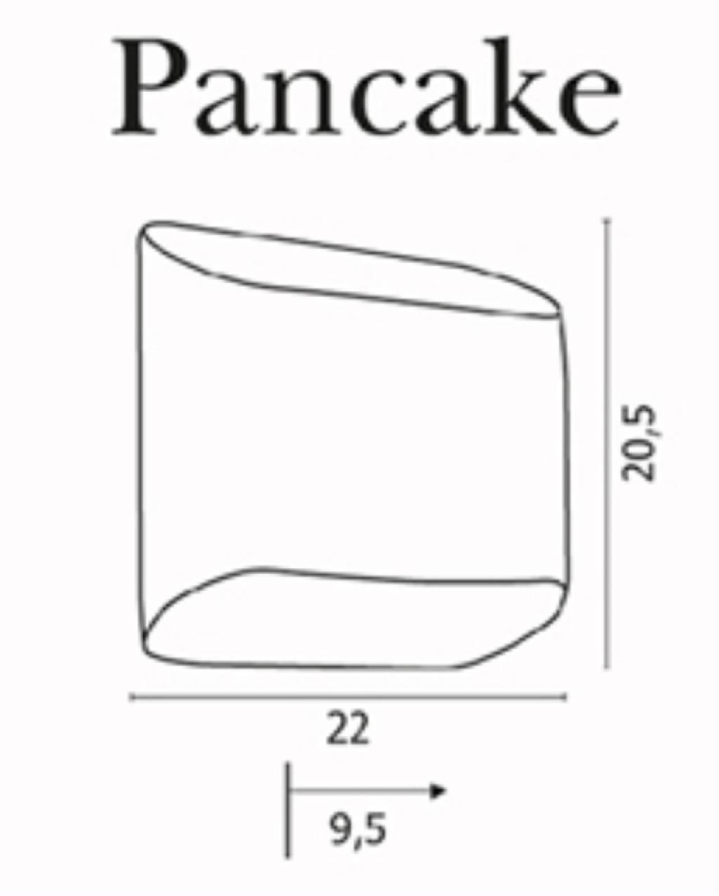 Svietidla R1 Megapredaj A Azzardo Pancake Wall White