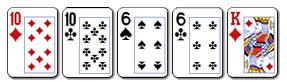 9 poker dvije karte iste jacine