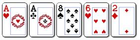 91 poker dvije karte iste jacine i tri nevezane karte