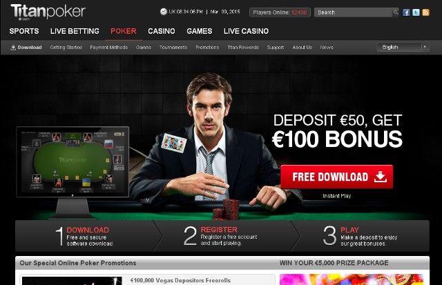 Titanbet kladionica poker bonus 100eura