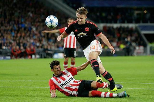Luke Shaw emotivno