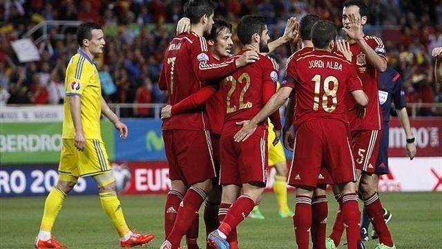 Ukrajina - Španjolska gol