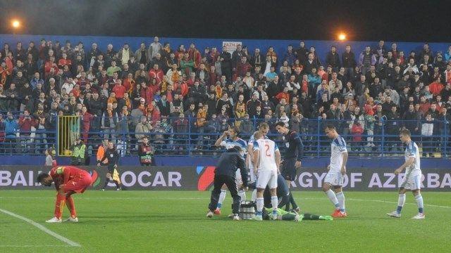 Rusija - Crna Gora navijački neredi