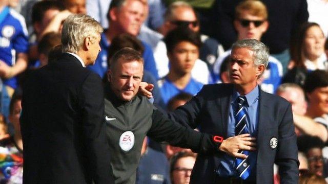 Wenger i Jose Mourinho