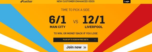 betfair - man city