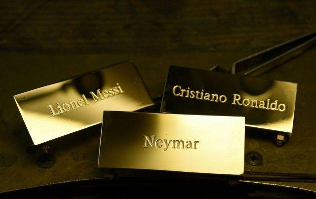 Lionel Messi, Neymar and Cristiano Ronaldo