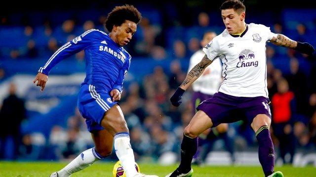 Chelsea - Everton Willian