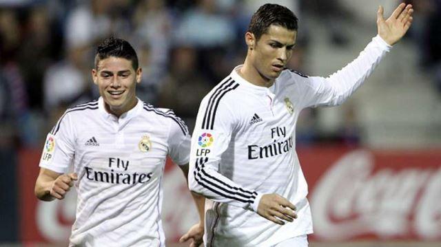 Ronaldo ismijavao Jamesa