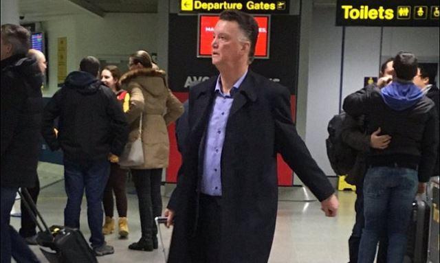 Van Gaal otputovao u Holandiju