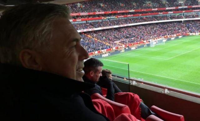 Ancelotti bio u Londonu