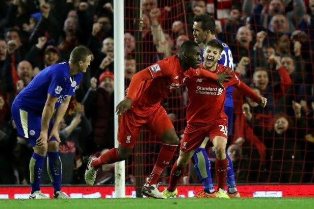 Leicester - Liverpool Benteke