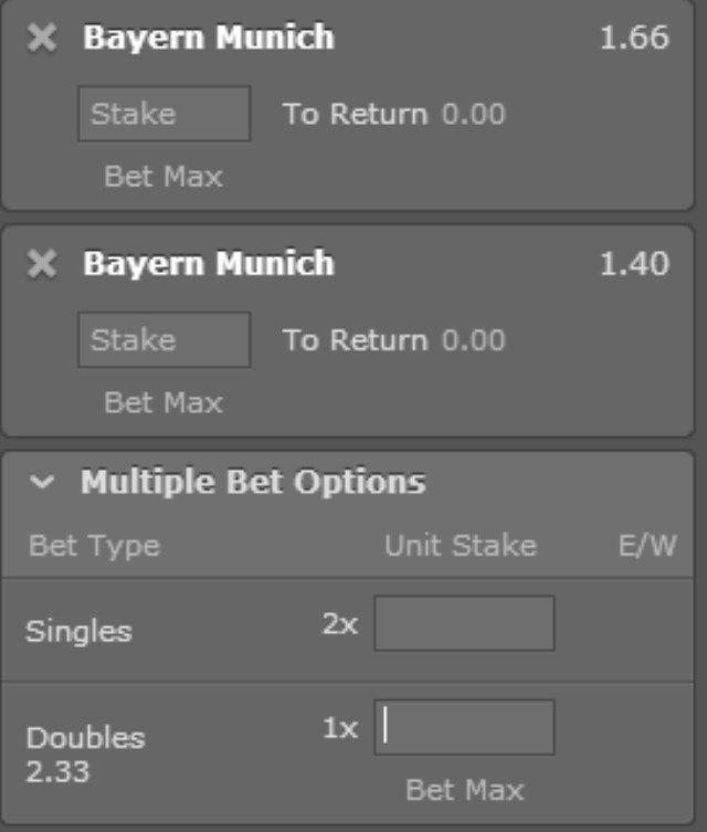 Bayern Munchen - Juventus oklada