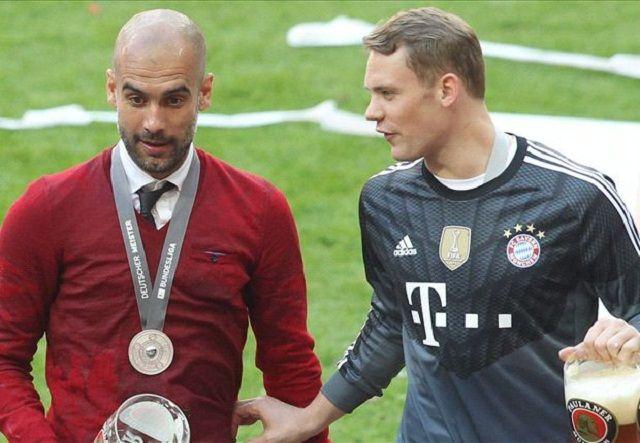 Manchester City želi ujediniti Guardiolu i Neuera na Etihadu