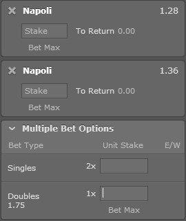 Napoli - Genoa dvostruka šansa