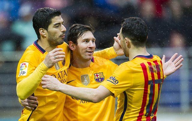 Nevjerovatno dostignuće Barceloninog trija!