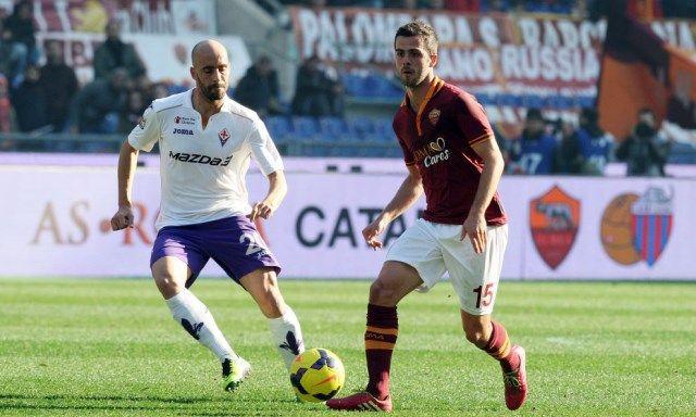 Roma - Fiorentina Pjanić