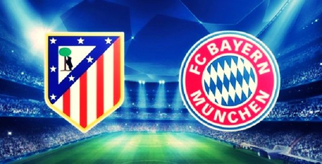 Atletico Madrid v Bayern