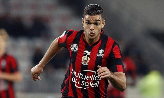 "Nice's French forward Hatem Ben Arfa controls the ball during the French L1 football match Nice (OGC Nice) vs Lyon (OL) on November 20, 2015 at the ""Allianz Riviera"" stadium in Nice, southeastern France. AFP PHOTO / VALERY HACHEVALERY HACHE/AFP/Getty Images"
