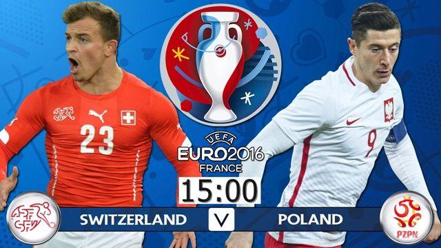 Švicarska v Poljska