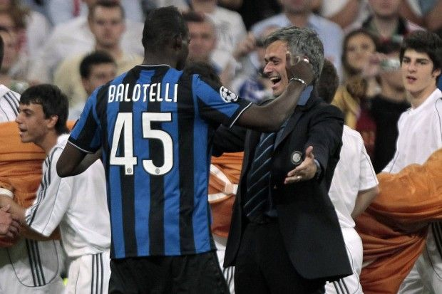 Balotelli i Mourinho