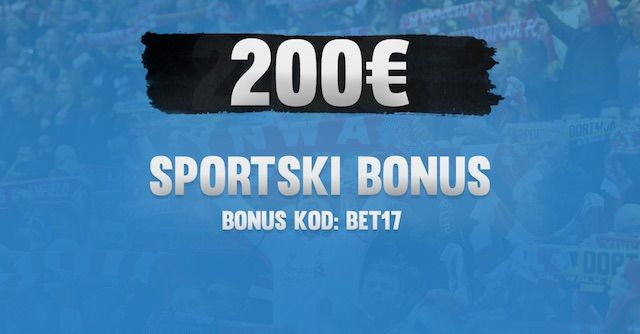 Kladite se pametno – 200€ sportski bonus