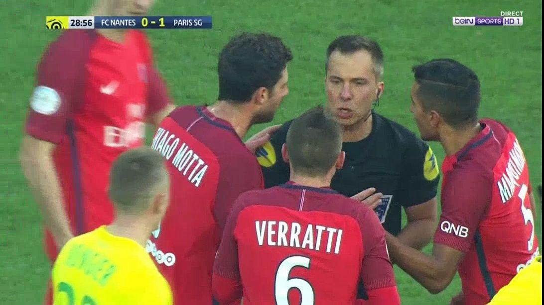 Nevjerovatno: Verratti dobio žuti karton zbog dodavanja lopte svom golmanu (VIDEO)
