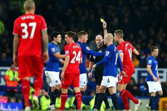 Liverpool v Everton: Marseyside derbi je proizveo više crvenih i žutih kartona nego bilo koji drugi derbi u Engleskoj