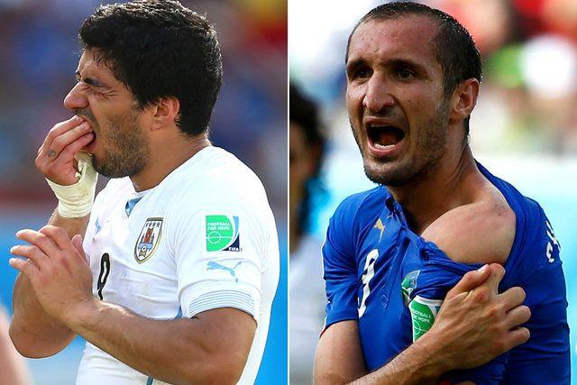 Luis Suarez otkrio šta je rekao supruzi nakon što je ugrizao Chiellinija