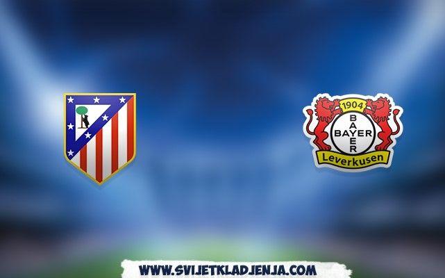 Atletico Madrid v Leverkusen: Odred Diega Simeonea juriša ka četvrtfinalu Lige prvaka
