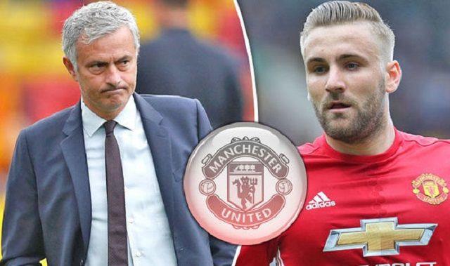 Mourinho objasnio zašto Luke Shaw ne igra za United: Razlog zbog kojeg bi Englez mogao biti na izlaznim vratima Old Trafforda